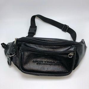 Handbags - High trails black leather fanny pack